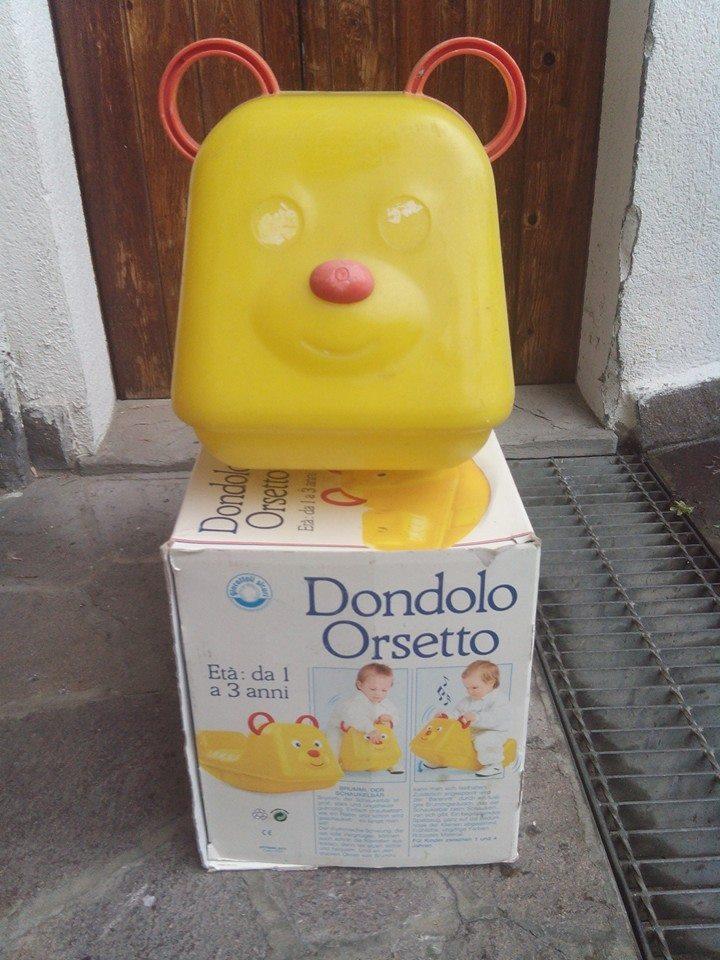 Dondolo orsetto chicco parma bakeca parma for Arredamento usato parma